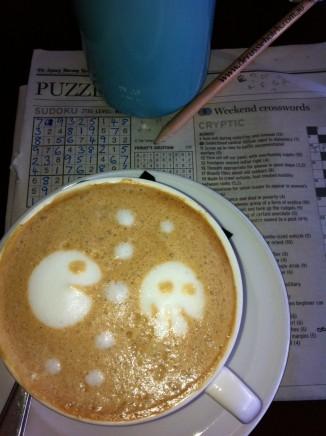 Coffee art Dubbo style