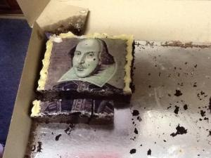 St John's College in Lismore also made a Shakespeare cake to celebrate the special occasion.