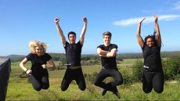 Team A Jump